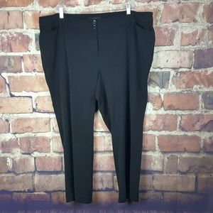Lane Bryant Womens Straight Leg Pants Size 26P